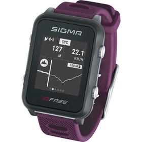 SIGMA SPORT iD.FREE Multi-Sport Watch plum